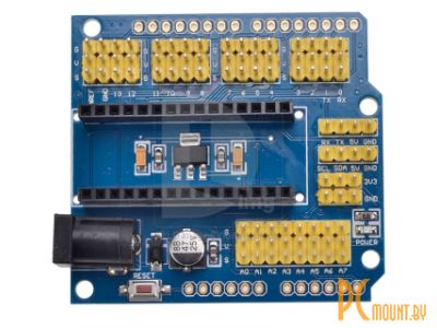 фото Arduino, Плата расширения Nano Shield для микроконтроллеров Arduino NANO 3.0/UNO R3 / Expansion board  Nano Shield for Arduino NANO 3.0/UNO R3