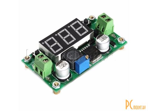 arduino module converter dc-dc lm2596+led voltmeter