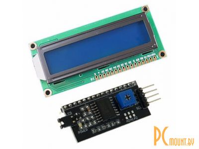 arduino module display lcd 16x2 lcd1602+i2c blue