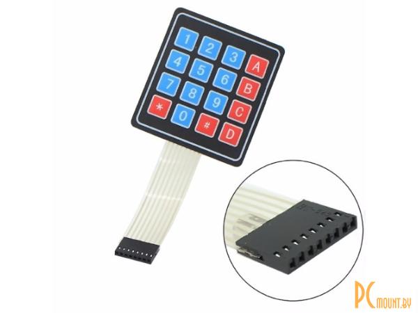 arduino module keyboard 4x4