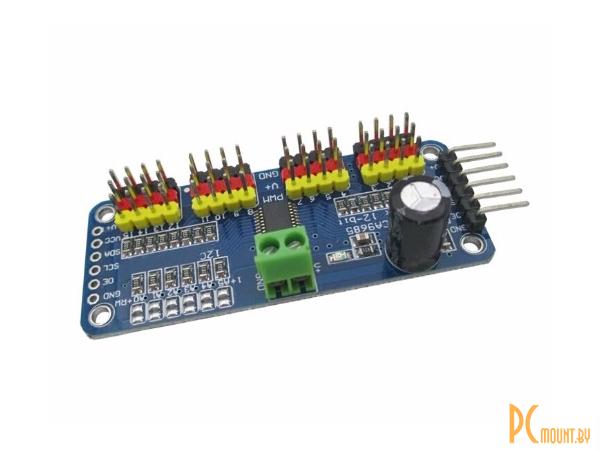 arduino module motor drive pca9685