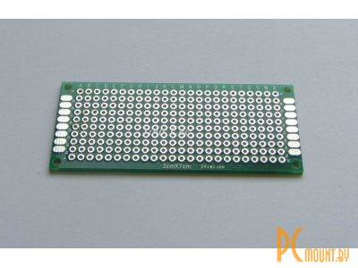 arduino pcbboard 3x7cm double-side