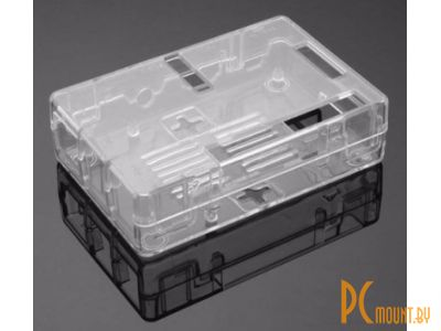 arduino plastic case raspberry pi3 model-b transparent