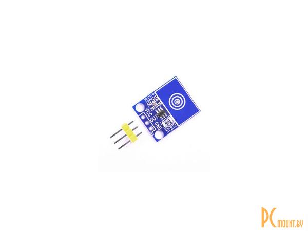 arduino sensor touch ttp223 blue