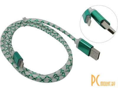 cable apple 8pin defender ach03-03lt 1m green 87553