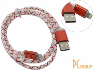 cable apple 8pin defender ach03-03lt 1m red 87552