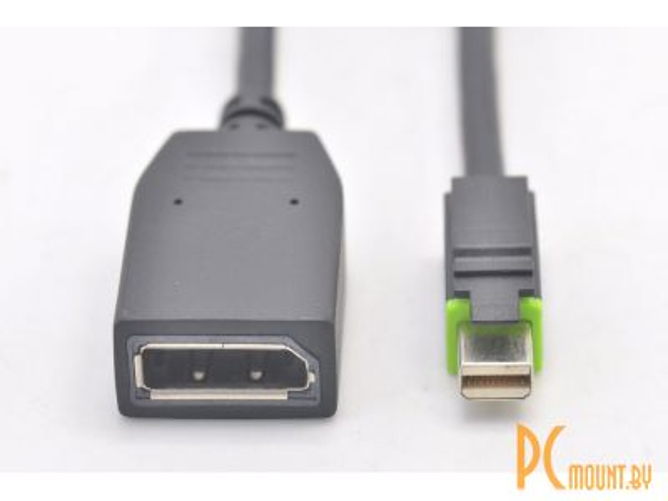 фото Переходник miniDP(m) to DP(f) NVIDIA P/N: 030-0705-000 Black