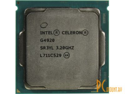 Процессор Intel Celeron G4920 BOX Soc-1151-v2