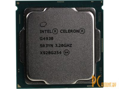 Процессор Intel Celeron G4930 BOX Soc-1151-v2