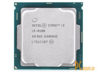 Процессор Intel Core i3-8100 OEM Soc-1151-v2