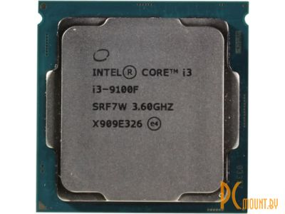 фото Процессор Intel Core i3-9100F BOX Soc-1151-v2