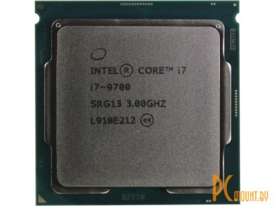 Процессор Intel Core i7-9700 BOX Soc-1151-v2