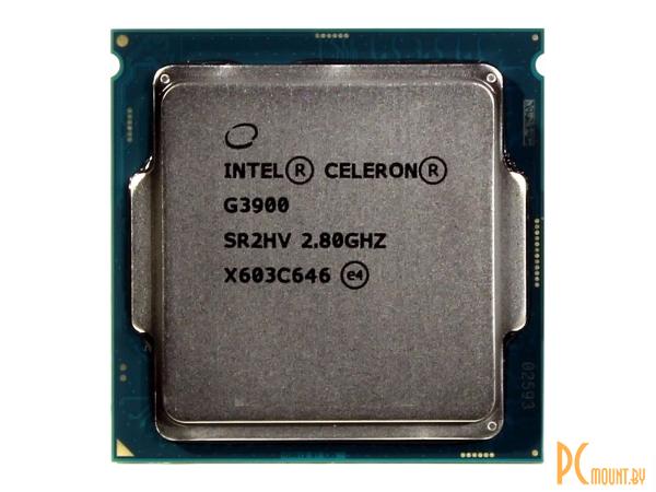 фото Процессор Intel, Soc-1151, Celeron G3900, OEM