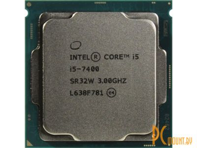 фото Процессор Intel, Soc-1151, Core i5-7400, OEM