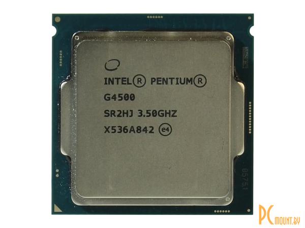 фото Процессор Intel, Soc-1151, Pentium G4500, BOX