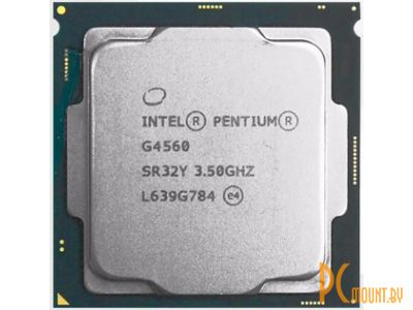 фото Процессор Intel Pentium G4560 BOX Soc-1151