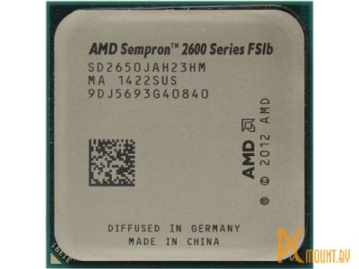 cpu s-am1 sempron 2650 box