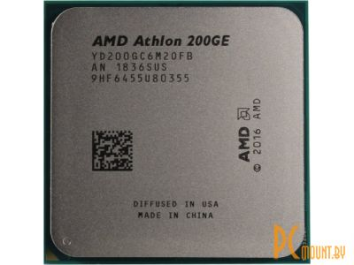 Процессор AMD Athlon 200GE BOX Soc-AM4