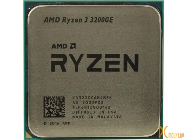 Процессор AMD Ryzen 3 3200GE (YD3200C6M4MFH) OEM Soc-AM4