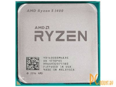 cpu s-am4 ryzen 5 1400 box