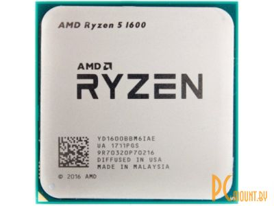 cpu s-am4 ryzen 5 1600 oem