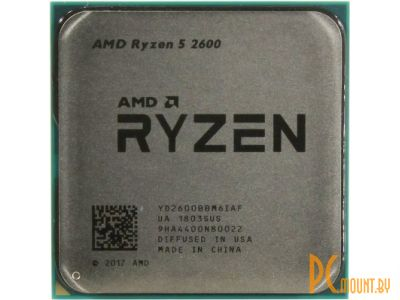 Процессор AMD Ryzen 5 2600 BOX Soc-AM4
