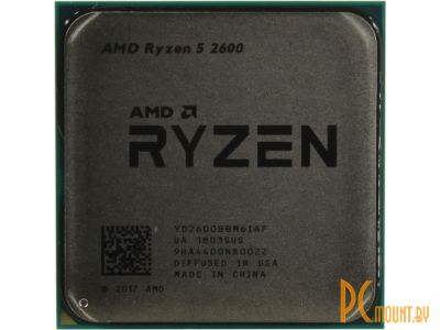 cpu s-am4 ryzen 5 2600 oem