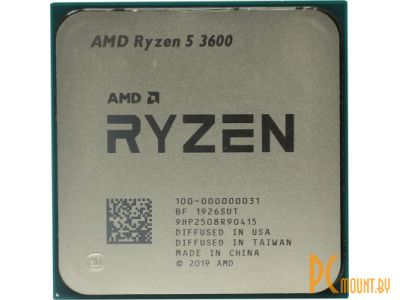 фото Процессор AMD Ryzen 5 3600 BOX Soc-AM4