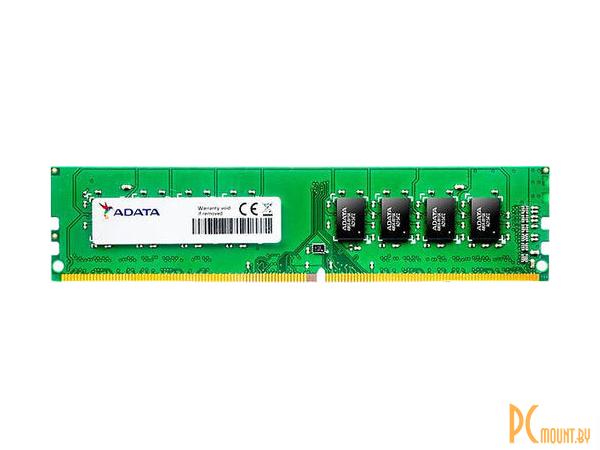 фото Память оперативная DDR4, 4GB, PC19200 (2400MHz), A-Data AD4U2400J4G17-S