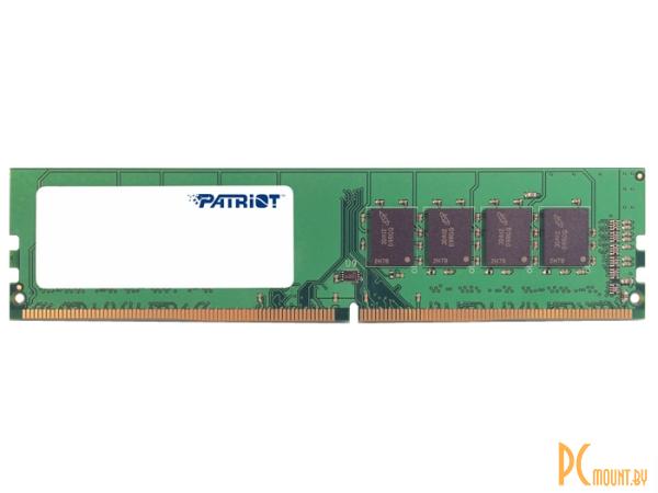 фото Память оперативная DDR4, 4GB, PC19200 (2400MHz), Patriot PSD44G240082