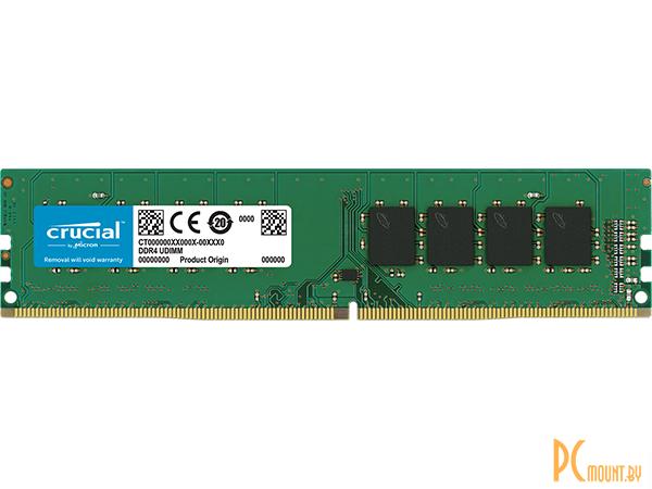фото Память оперативная DDR4, 8GB, PC19200 (2400MHz), Crucial CT8G4DFS824A