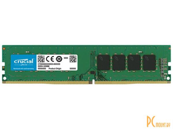 фото Память оперативная DDR4, 8GB, PC21300 (2666MHz), Crucial CT8G4DFS8266
