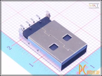 rc cn usb a male smd pcb