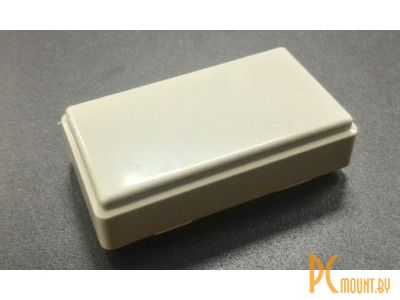 rc plastic enclosure 1001 50x28x15mm gray