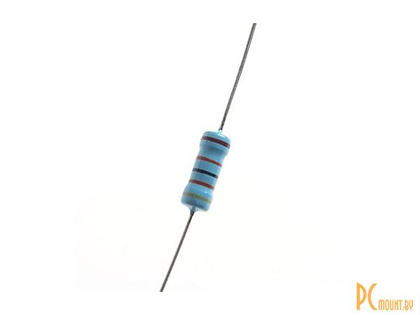 фото Резистор, Resistor Metal Film DIP 1/4W 470 Ohm 1%, 20 pcs