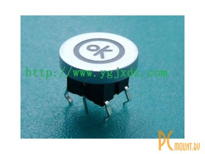 rc sw 1key+led button 6pin ok-circle