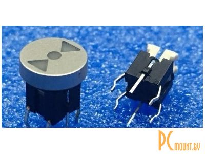 rc sw 1key+led button 6pin reduce