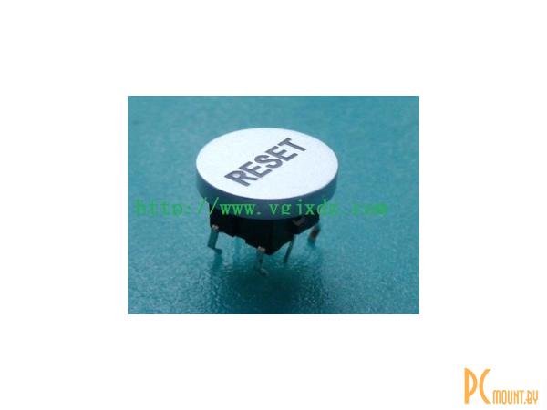 rc sw 1key+led button 6pin reset
