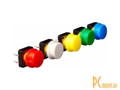 rc sw plastic knobs red