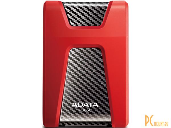 Внешний жесткий диск 1TB  A-Data AHD650-1TU31-CRD 2.5