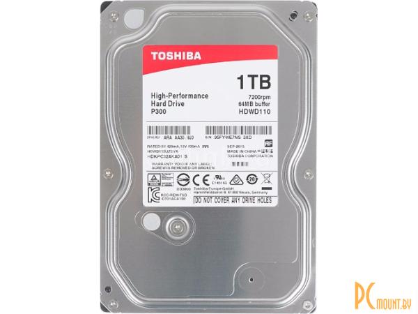Жесткий диск 1TB Toshiba HDWD110UZSVA SATA-III
