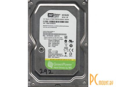 hdd wd 1000 wd10eurx server