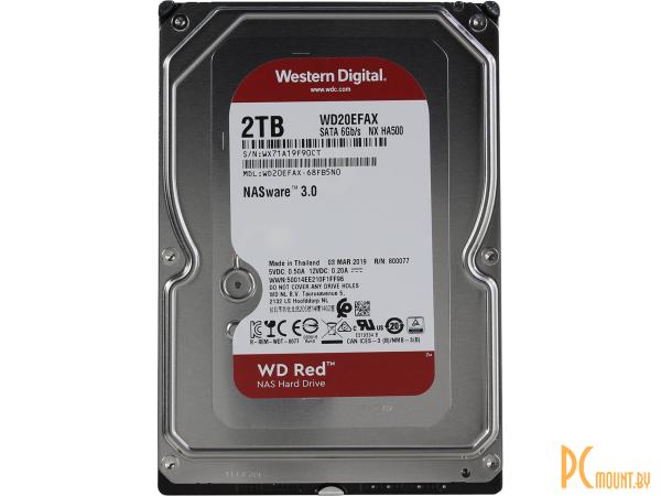 фото Жесткий диск 2TB WD WD20EFAX SATA-III