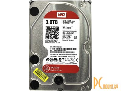 hdd wd 3000 wd30efrx sata-iii server