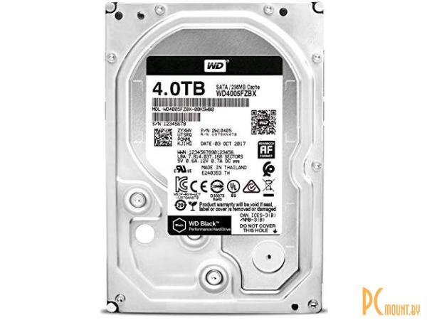 Жесткий диск 4TB WD WD4005FZBX SATA-III