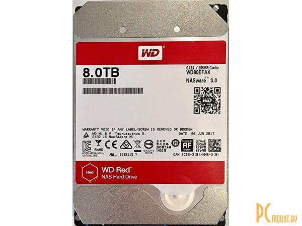 фото Жесткий диск 8TB WD WD80EFAX SATA-III