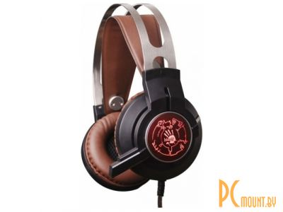 headphone a4 bloody g430 black-brown+microphone