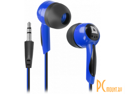 headphone defender basic-604 black-blue 63608