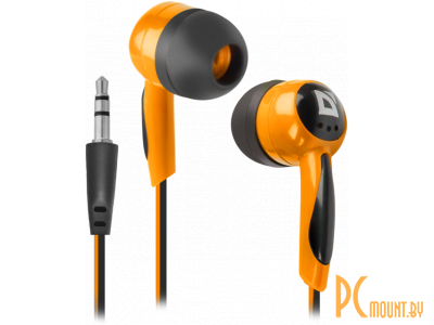 headphone defender basic-604 black-orange 63606