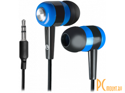 headphone defender basic-616 black-blue 63616
